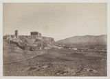 Hill of the Acropolis with Parthenon, as seen from the Pnyx, 1849 to 1850.