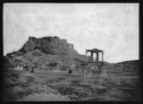 The Acropolis, Athens, from the south east, 1851.