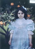 Peggy in the garden, c 1909.
