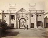 The Mermaid Gate, Kaiser Bagh, Lucknow, India, 1863-1870.