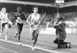 Sebastian Coe, British runner, Zurich, 1979.