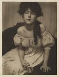 Portrait of  Evelyn Nesbit, 1902.