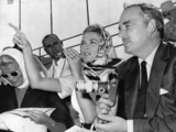 Princess Grace and Prince Rainier, Olympic Games, Rome, 1960.
