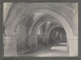Triforium at Gloucester Cathedral's crypt, 1930.