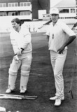 Gatting and Chris Broad, June 1988.