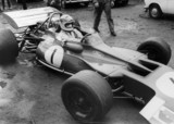 Jackie Stewart, August 1970.