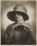 Mrs Doris Borup', about 1925.