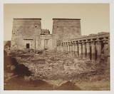 'Ruins of Phyl', c 1849.