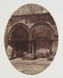 'Entrance to the Church of the Holy Sepulchre.' c 1849.