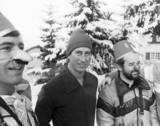 Prince Charles on a skiing holiday, January 1980.