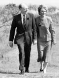 Neil and Glenys Kinnock, March 1987.