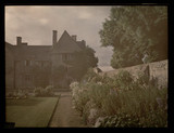"""'Mrs Sandford's House (XII Century) and Garden...', c 1913."""