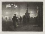 'Piccadilly Gardens from Regent Street', 1924.