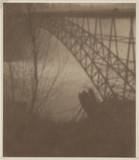 'An American Impression: The Bridge Below Niagara', early 20th century.