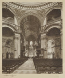 'Interior of St Paul's Catherdral, London', 1933.