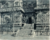 Entrance to the Temple of the Great Bull, Tanjore, 1858.