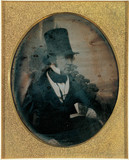 Portrait of William Henry Fox Talbot, c 1844.