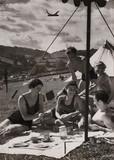Under canvas, 1 August 1938.