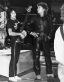 Rod Stewart in rehearsal, Zurich, c 1980s.