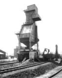 LNER locomotive coaling plant, Bradford, West Yorkshire, April 1939.
