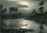 'Evening Near the Pyramids', 1896.