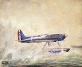 """Supermarine S6 seaplane, c 1931. """