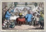 Farmer Giles' Establishment', Christmas Day 1800.