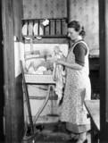 Washing-up, 21 October 1938. 'The Hawthorne