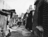 Slum housing, South London, 7 September 1934.