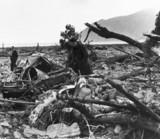 Lynmouth flood disaster, Devon, 17 August 1952.