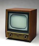 Murphy television receiver, model V240, 1954.