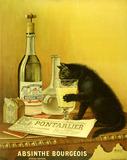'Absinthe Bourgeois', c 1900.