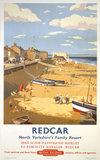 'Redcar', BR poster, 1958.