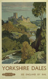 'Yorkshire Dales', BR poster, 1948-1965.