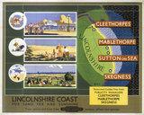'Lincolnshire Coast', BR poster, 1950s.