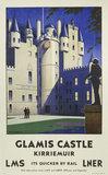 'Glamis Castle, Kirriemuir', LMS/LNER poster, 1923-1947.