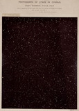 Stars in the constellation of Cygnus, 1887.