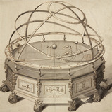 &#039;Grand Orrery by Thomas Wright&#039;, London, 1715-1728.