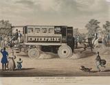 'The 'Enterprise' Steam Omnibus', 1833.