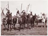 Wild West show, c 1905.