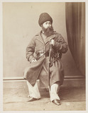 'His Highness Shere Ali Khan, Amir of Afghanistan', c 1878.