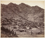 'Kutchi (Gypsy) Village Near Dacca [sic]', c 1878.