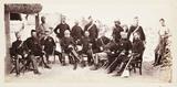 'Lieut General Sir S J Browne and Staff...', 1879.