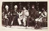 'Mr Jenkyns, Major Cavagnari CIS, Amir Yakub Khan...', 1879.