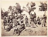 'The Amir's Highlanders', 1879.
