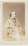 'Disraeli', c 1865.