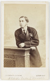 Prince Alfred, Duke of Edinburgh, c 1870.