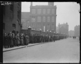 Queues of unemployed people, 1932.