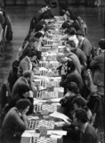 Chess competition, Blackpool, 17 April 1978.