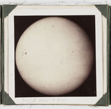 The Sun, taken at 2pm, 25 July 1862.